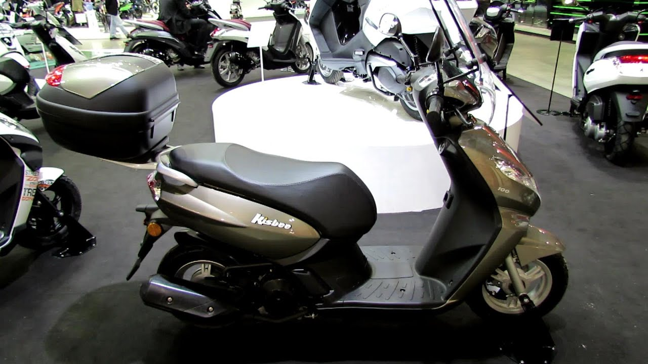 2014 peugeot kisbee 100 4t scooter walkaround 2013 eicma milano motorcycle exhibition youtube. Black Bedroom Furniture Sets. Home Design Ideas