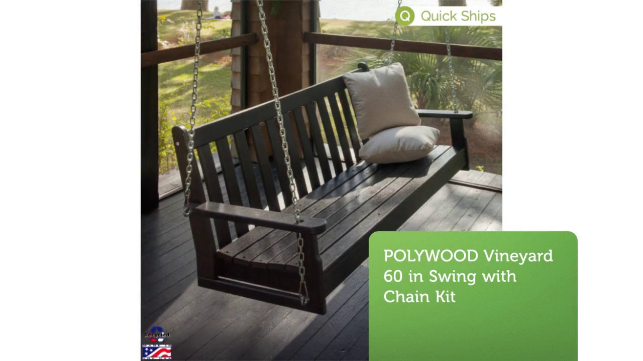 Buy Polywood Porch Swings At Polywood Furniture 877 876