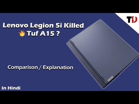 Lenovo Legion 5i 🔥 Killed  Asus Tuf A15 and Hp Omen 15 ? | Best Laptop ?