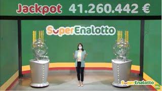 SuperEnalotto - Estrazione e risultati 21/05/2020