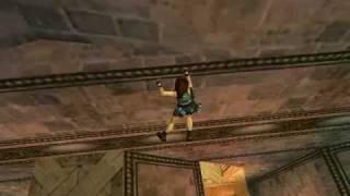 TRLE Walkthrough Underworld UB3 - The Tower of Babel (Part 02)