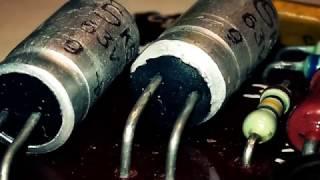 Маленький ремонт платы индикатора АС S-50B