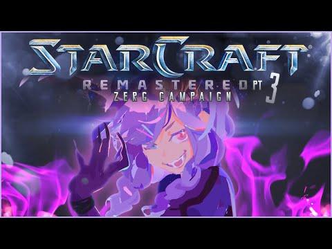 【STARCRAFT REMASTERED ZERG】For the Swarm!!【NIJISANJI EN | Selen Tatsuki】