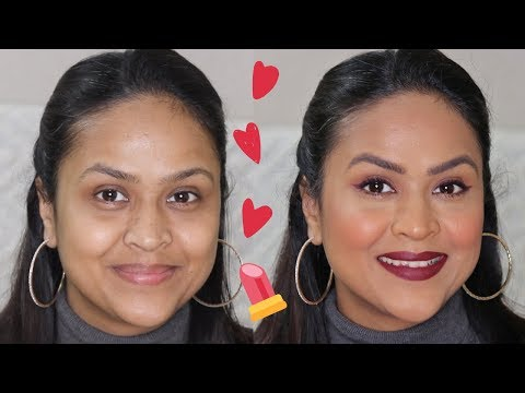 valentine's-day-makeup-look-with-2-lipstick-options