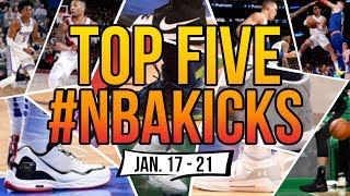 Top 5 Sneakers Worn in the NBA (Jan. 17 - 21)