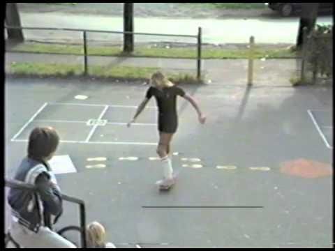 Rick Tetz Skateboarding Kitsilano School Circa 1980
