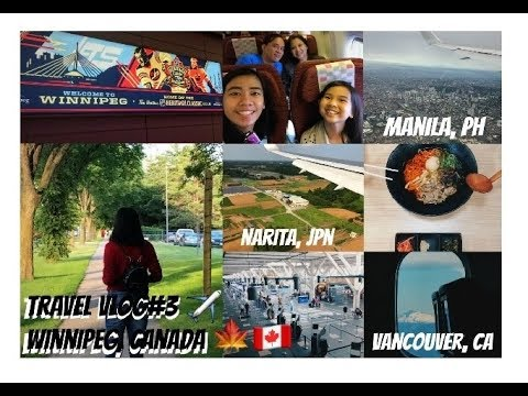TRAVEL VLOG# 3 MIGRATE TO CANADA 2017🇨🇦