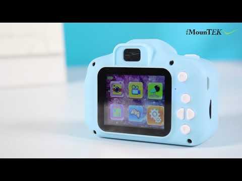 GPCT2043 - 12MP 1080P FHD Kids Video Camera 4X Digital Zoom W/ Games