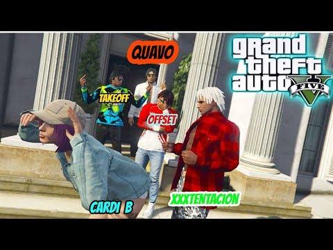 GTA 5  XXXTENTACION VS MIGOS  PART 1