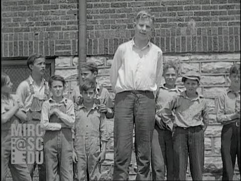robert wadlow le géant d alton youtube