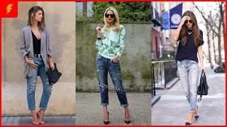 16 Killer Outfits With Boyfriend Jeans That Are Meant To Impress