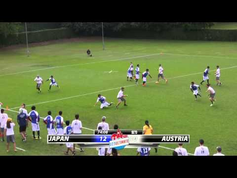 WU23 2015 | Japan vs Austria - Quarterfinal (Open)