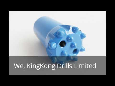 Rock drilling bits from K.K.D MANUFACTURER AND SUPPLIER