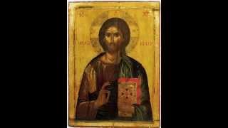 видео икона Иисуса Христа