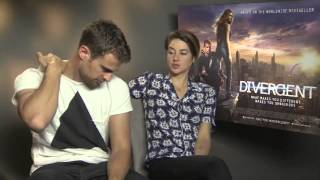 Interview: Shailene Woodley and Theo James talk DIVERGENT