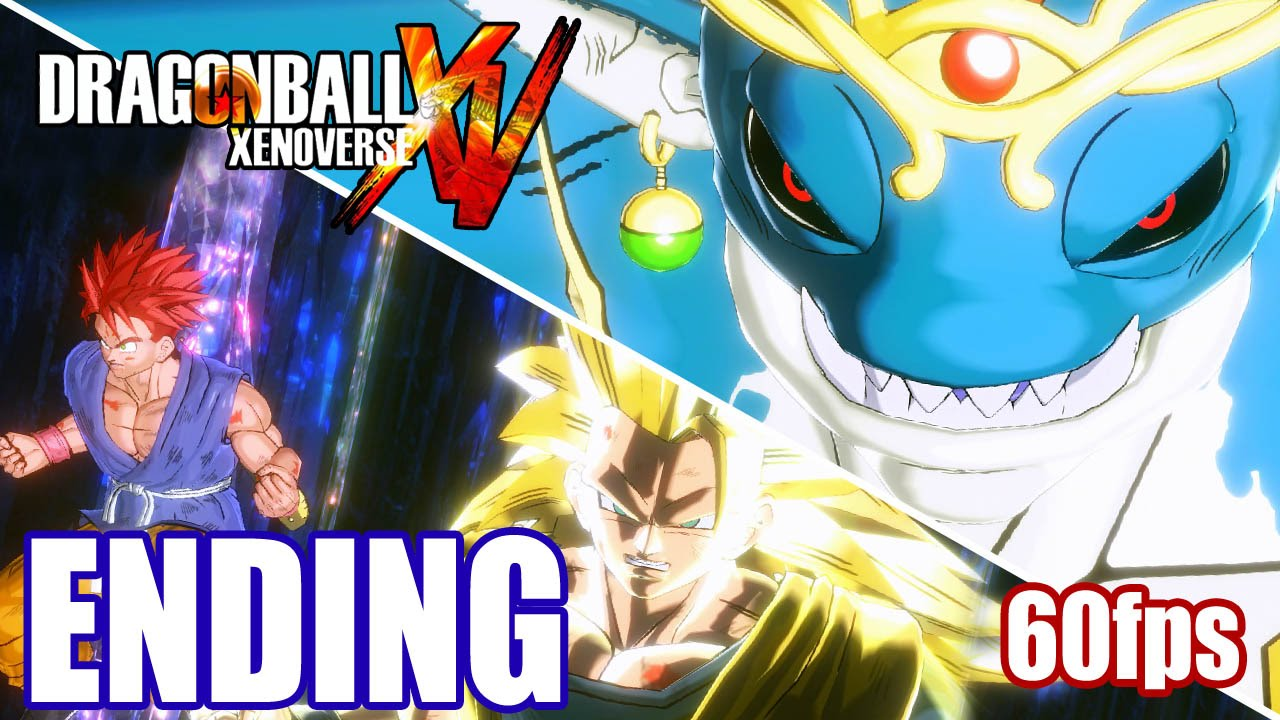 DragonBall Xenoverse [ENDING] Walkthrough PART 17 60fps [Demigra ...