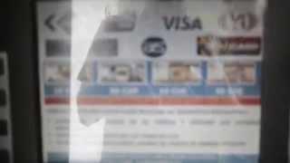 CAJERO AUTOMÁTICO EN CUBA - TUTORIAL Como extraer CUC con tarjeta de Crédito.
