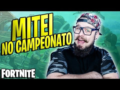MITEI NO CAMPEONATO DE FORTNITE, COM 1 A MENOS NO TIME! (PAI TAMBÉM JOGA)