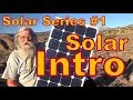 Solar Series--Introduction to the Basics
