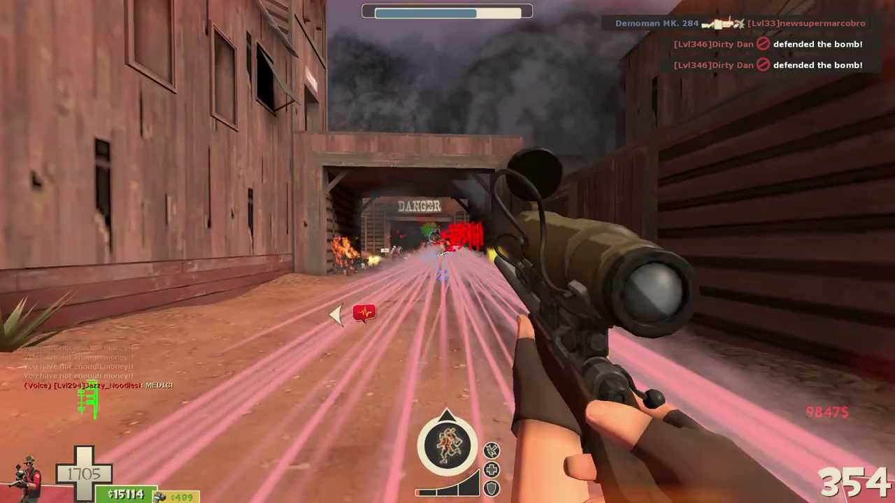 Tf2 Mvm Uber Upgrades Mod Final Wave Decoy Insane Money Youtube