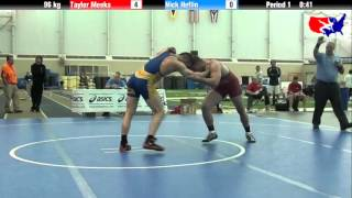 Taylor Meeks vs. Nick Heflin at 2013 ASICS University Nationals - FS