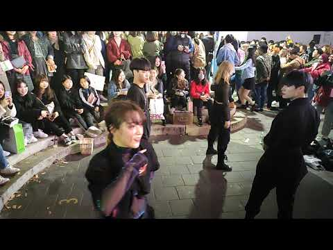 20191027. PARADOX.💘 HALLOWEEN SHOW.  'GOOD BOY',  'DALLY' COVER+. AMAZING ATTRACTIVE BUSKING.