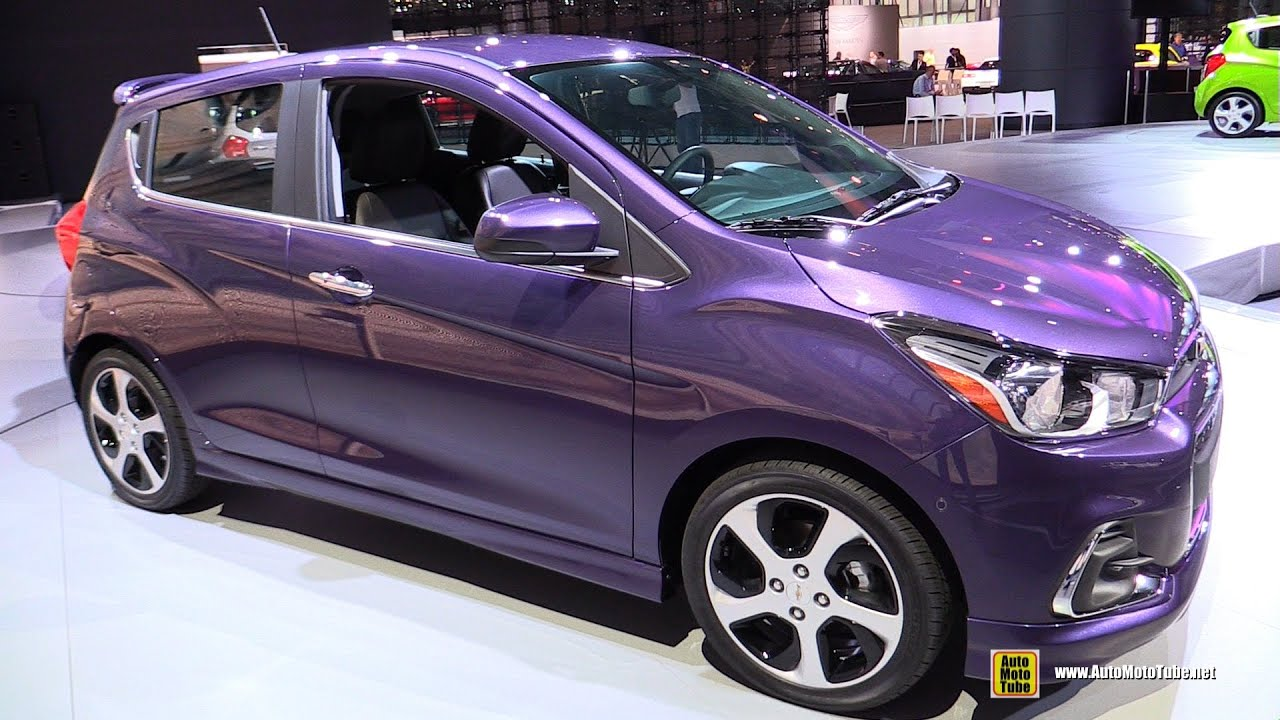 2016 Chevrolet Spark Lt Exterior And Interior Walkaround Debut