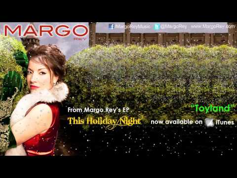 Margo Rey- This Holiday Night, Toyland And Silent Night With Lyrics And Snow!