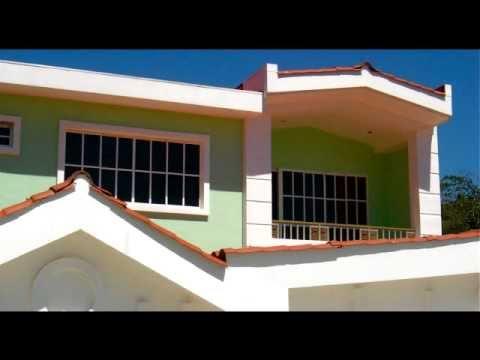 Casa en venta en condado santa elena san salvador el for Casas con techo de teja
