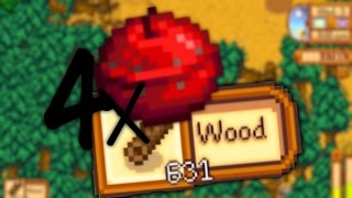 How To Cut Down Trees Fast! [STARDEW VALLEY]