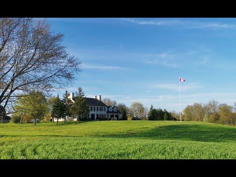 Ontario Large Farm For Sale - Luxury House On 158 Acre Farmland