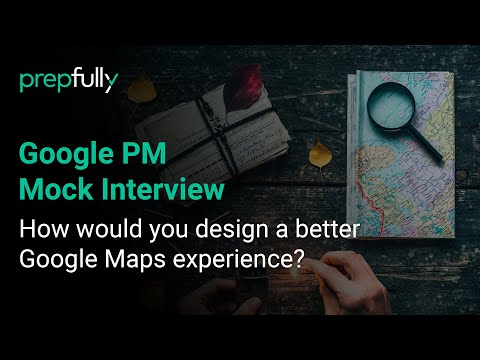 Google Product Manager Mock Interview