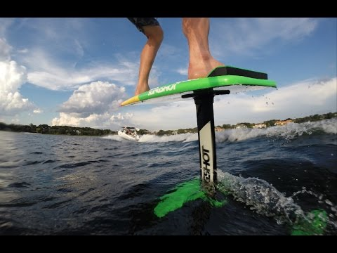 Introducing the Slingshot Wakefoiler