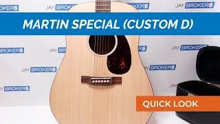 CF Martin amp Co quotSpecialquot Acoustic Guitar Custom D
