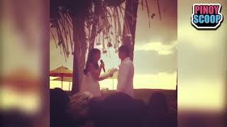Maxene Magalona In Tears During Her Wedding Vow As She Mentions Dad Francis M