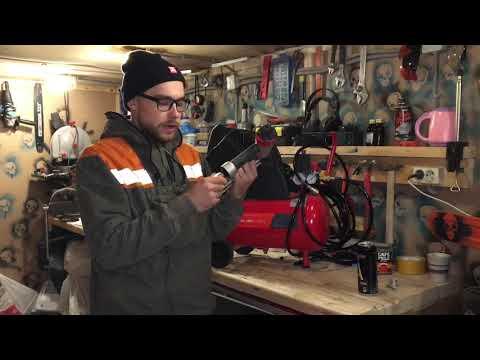 Fubag 24 л. Воздушный компрессор /Нейлер Matrix Впечатление после работы.