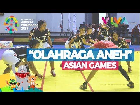 3 Olahraga 'Aneh' Di Asian Games 2018, Bingung Cara Mainnya
