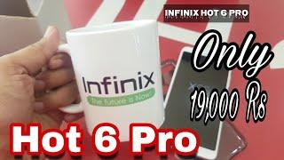 Infinix Hot 6 Pro Gold unboxing in urdu/hindi 19,000 Rs - iTinbox