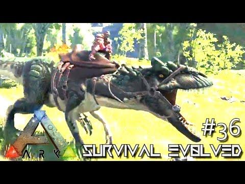 ARK: Survival Evolved -NEW ALLOSAURUS ALPHA TAMING  !!! - SEASON 4 [S4 E36] (ARK Gameplay)