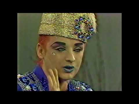 Donahue  Boy George and Culture Club 1984