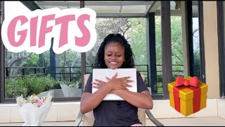 Unwrapping My Birthday Presents 🎁🎁🎁|| Unboxing my 2020 Macbook Air 💻💻💻 || Tuttie Too ❤️