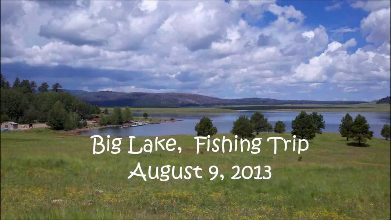 Big lake white mountains arizona youtube for Camping and fishing in arizona