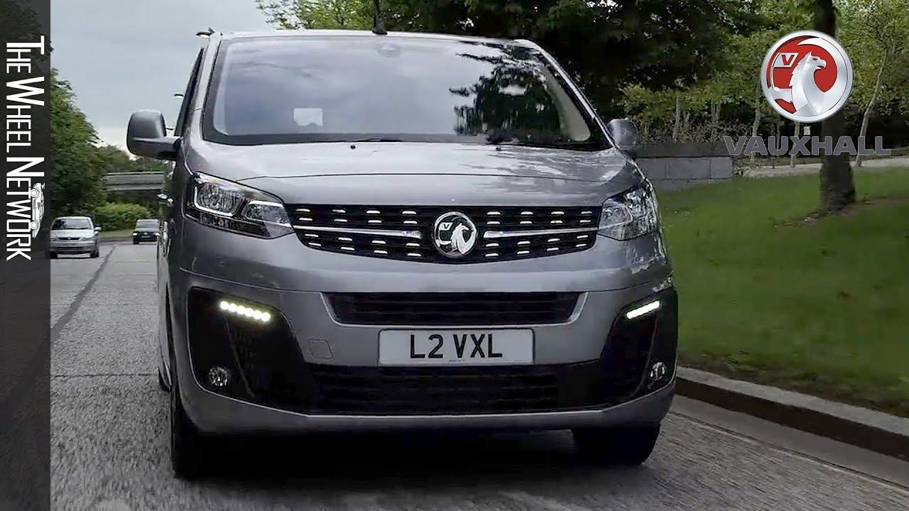 2019 Vauxhall Vivaro Panel Van Quartz Grey Driving Interior