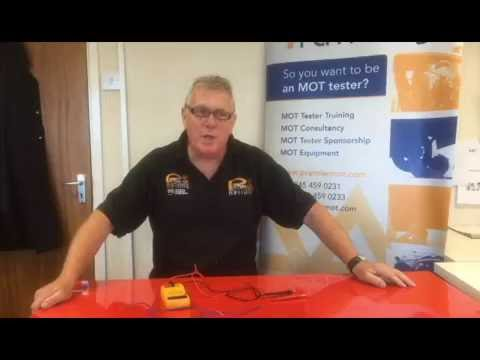How to check if there is a break in a wire using a multimeter