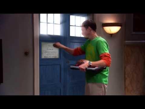 Doctor Who meets The Big Bang Theory