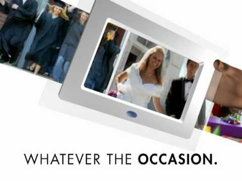 KitVision 7 inch Digital Photo Frame available in White, Black ...