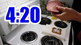 Pothead Vlogs MAKING A BOLOGNA SANDWICH