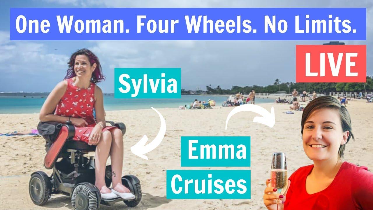 Live Cruise Q&A - Emma Cruises and Sylvia, Accessible Cruise Blogger