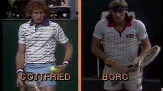 Pepsi Grand Slam 1978 SF Borg vs Gottfried