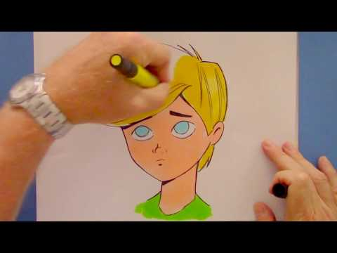 How To Draw Cartoon With Personality Step By Step